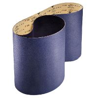Wide and narrow sanding belts